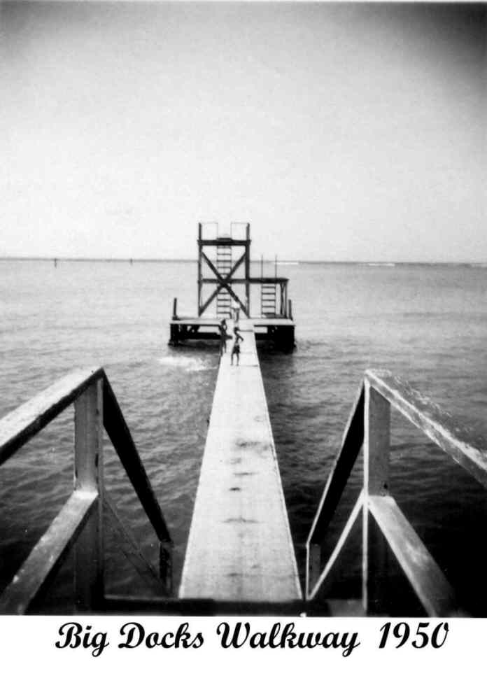 big black dock